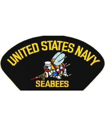 US Navy Seabees Patch