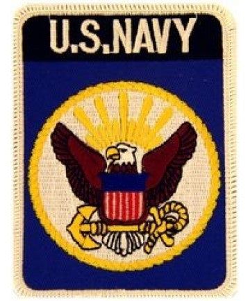 US Navy 4 inch Patch