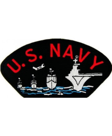 US Navy Patch with Ships