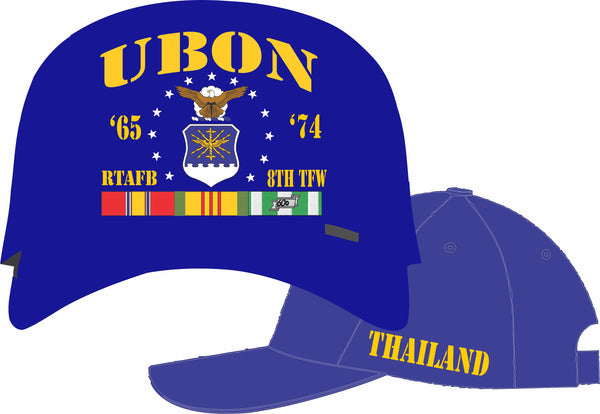 Air Force Thailand UBON 8th Tactical Fighter Wing Cap