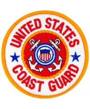 "US Coast Guard Round 3"" Patch"