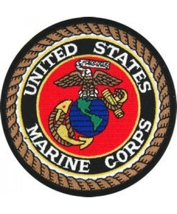 "United States Marine Corps 3"" Round Patch"