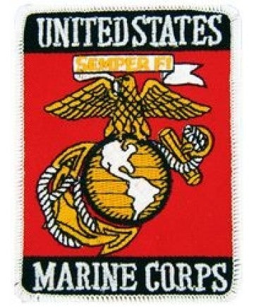 United States Marine Corps Small Patch