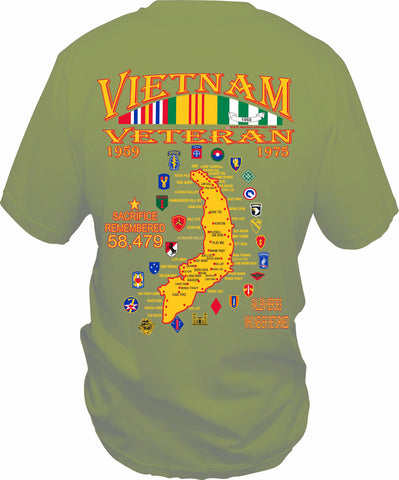 Vietnam Black Commemorative T-shirt
