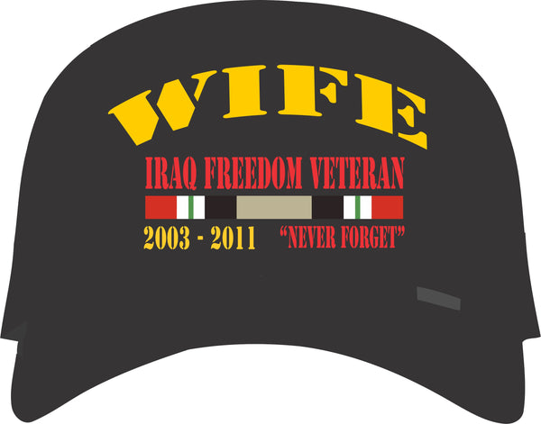 Wife of Iraqi Freedom Veteran Cap