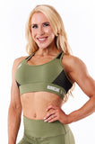 Storm Sports Bra (Khaki Green)