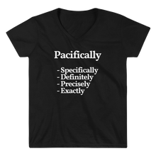 "Ladies ""Pacifically"" V-Neck Tee"