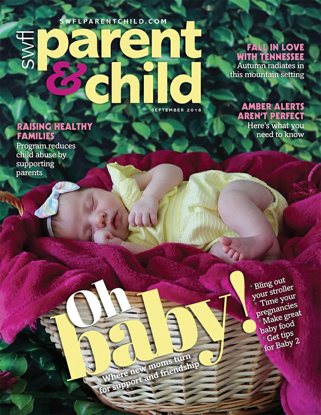 South Florida Parenting Magazine Feature: Strollin' in Style