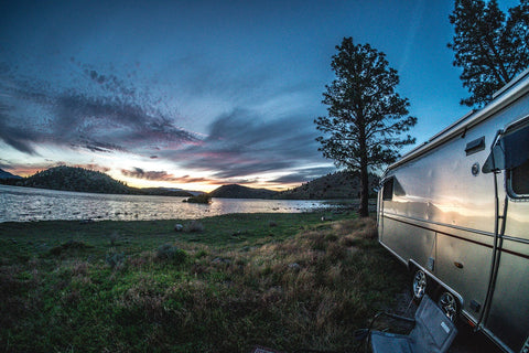 Road Trip in an Airstream Trailer