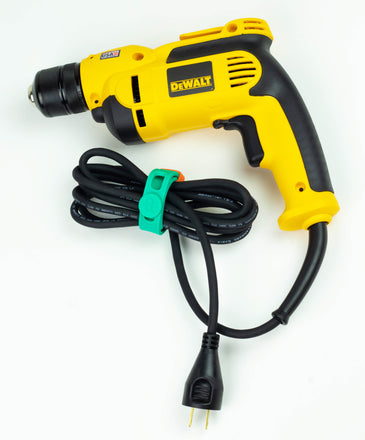Packbands make a great cord holder for power tool cords, extension cords, cables and hoses.
