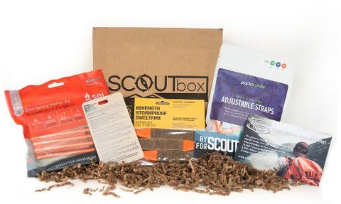 SCOUTbox subscription box with Packbands