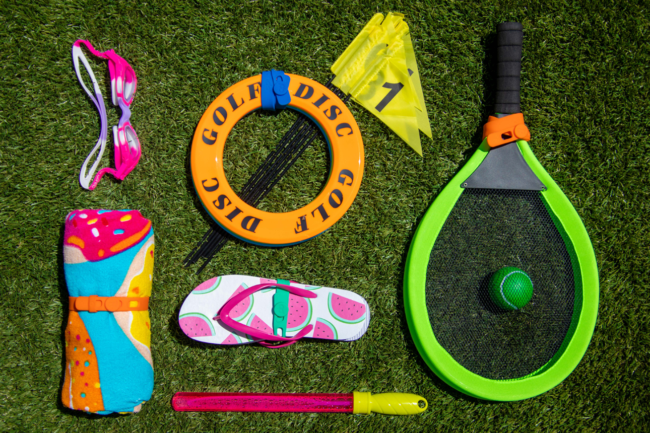 Kids' toys, games and activities get organized with Packbands