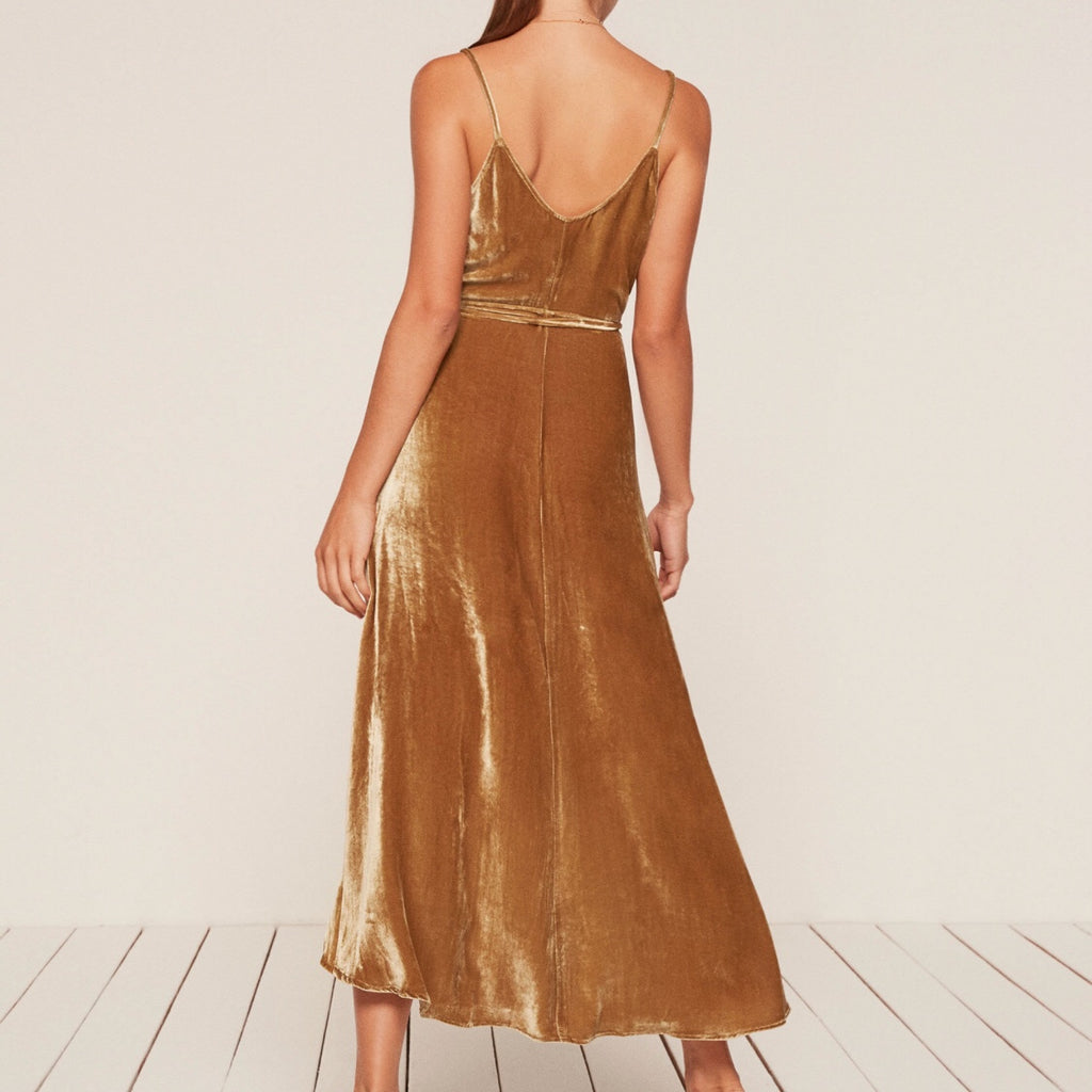 Reformation | Anoush Dress Gold