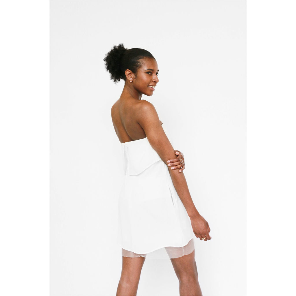 BCBG | Fei Fei strapless dress