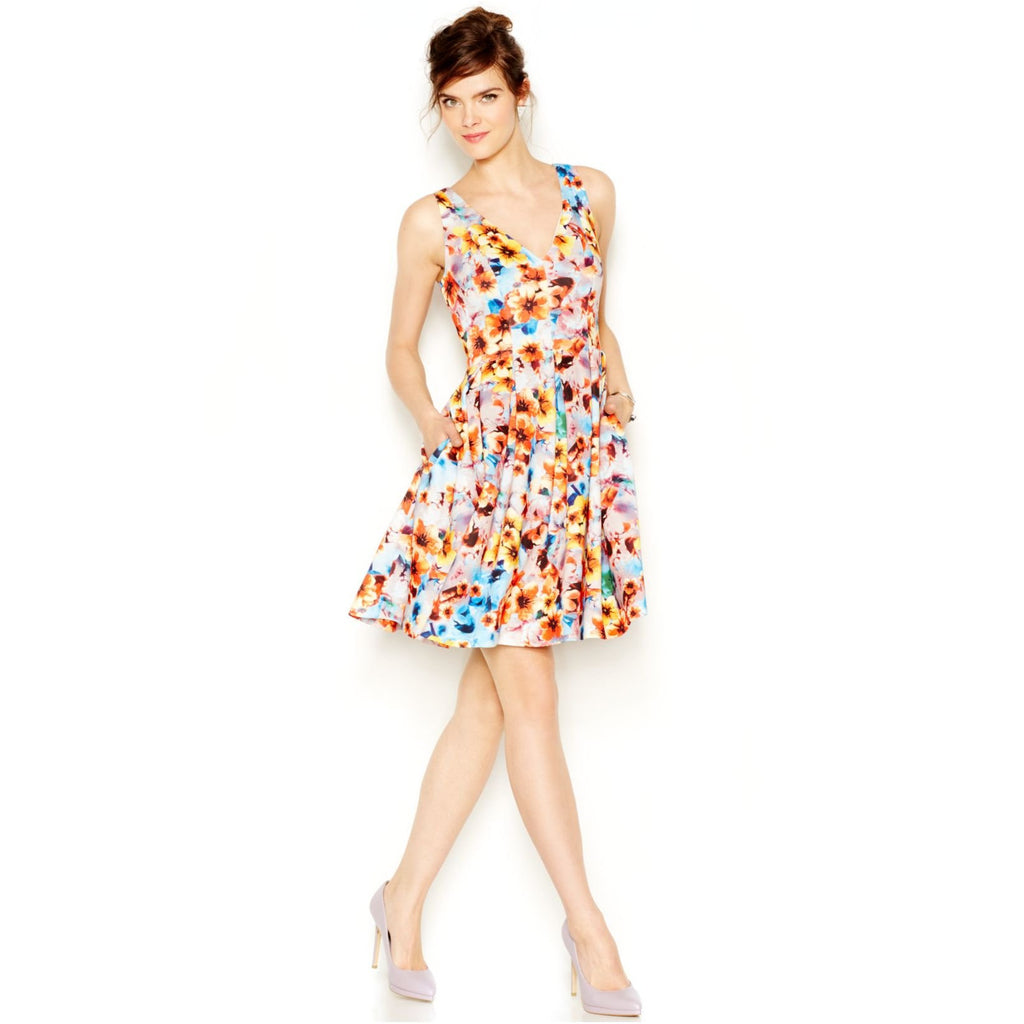 Betsey Johnson | Floral Dress