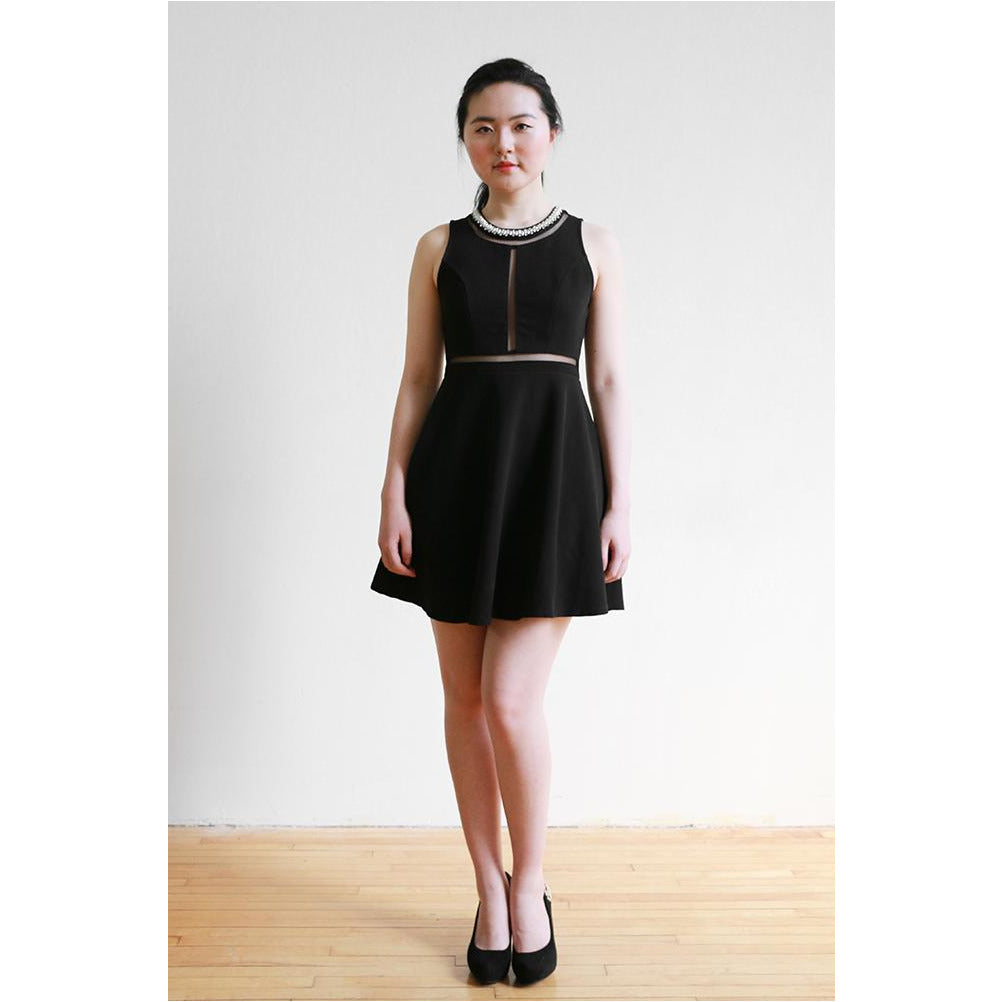 Monteau | Little Black Dress - Fresh Fashion Library