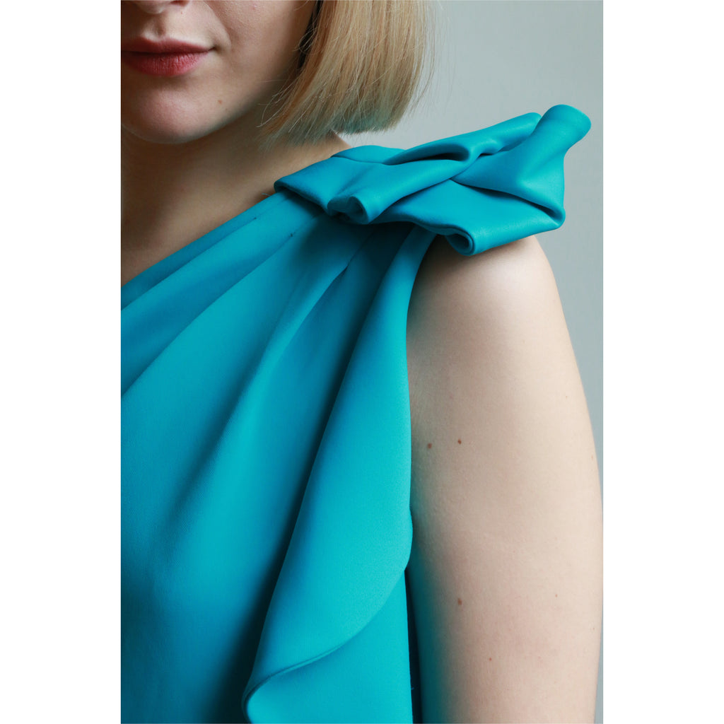 Halston Heritage | One-shoulder Shift Dress