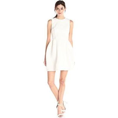 Calvin Klein | fit-and-flare dress