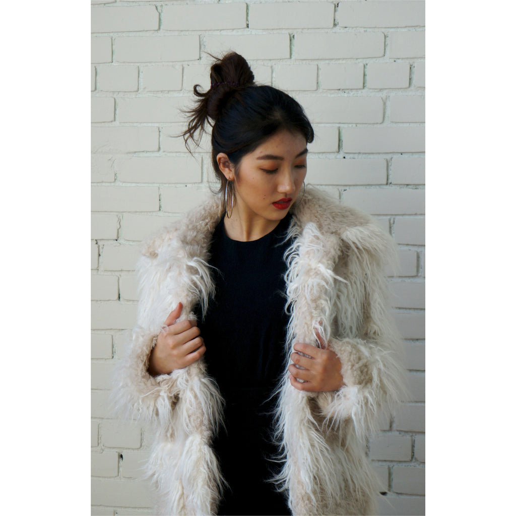 Helmut Lang | Faux Fur Jacket