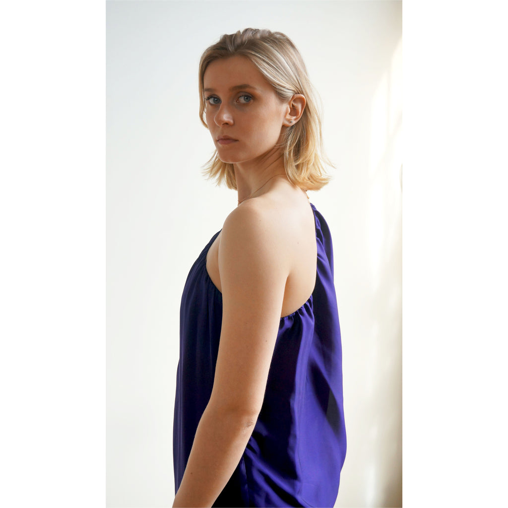 Aidan Mattox | one-shoulder shift dress - Fresh Fashion Library