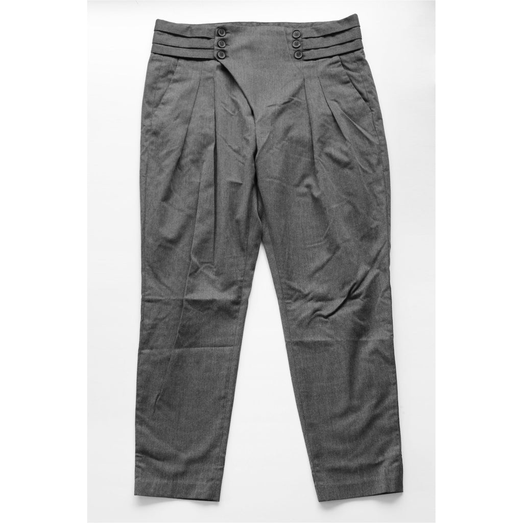 ZARA | Grey Sarouel Trouser Pants
