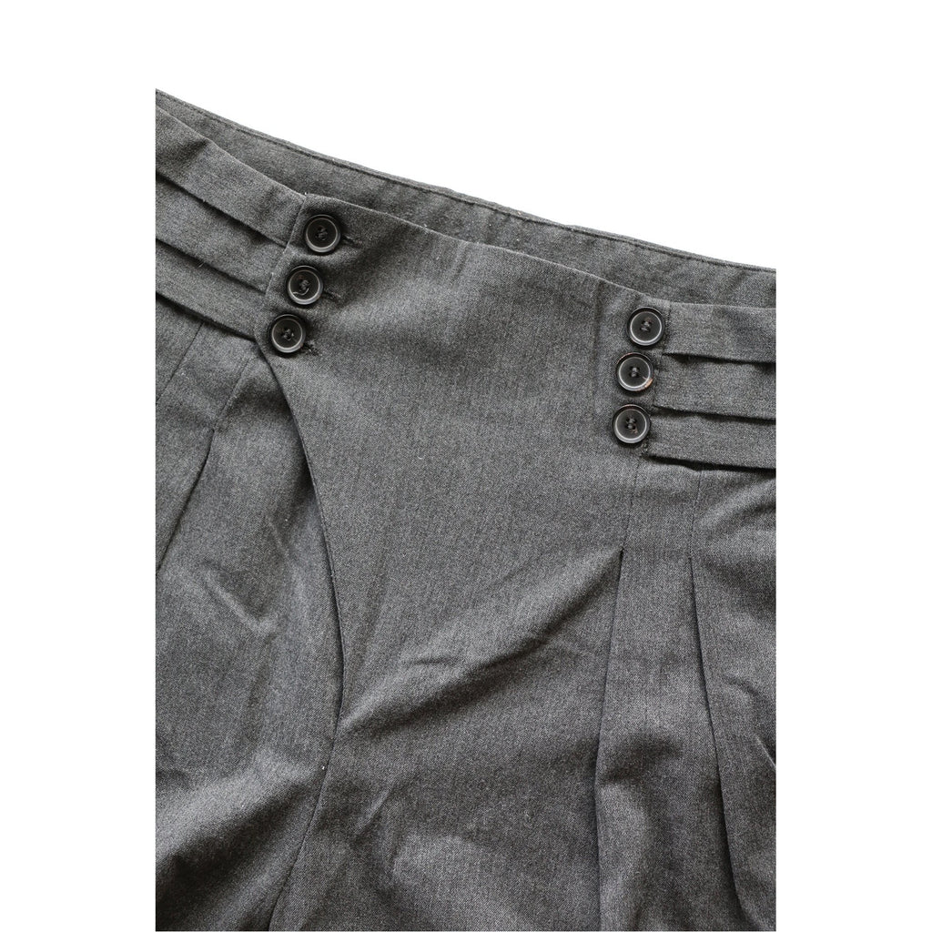 ZARA | Grey Sarouel Trouser Pants - Fresh Fashion Library
