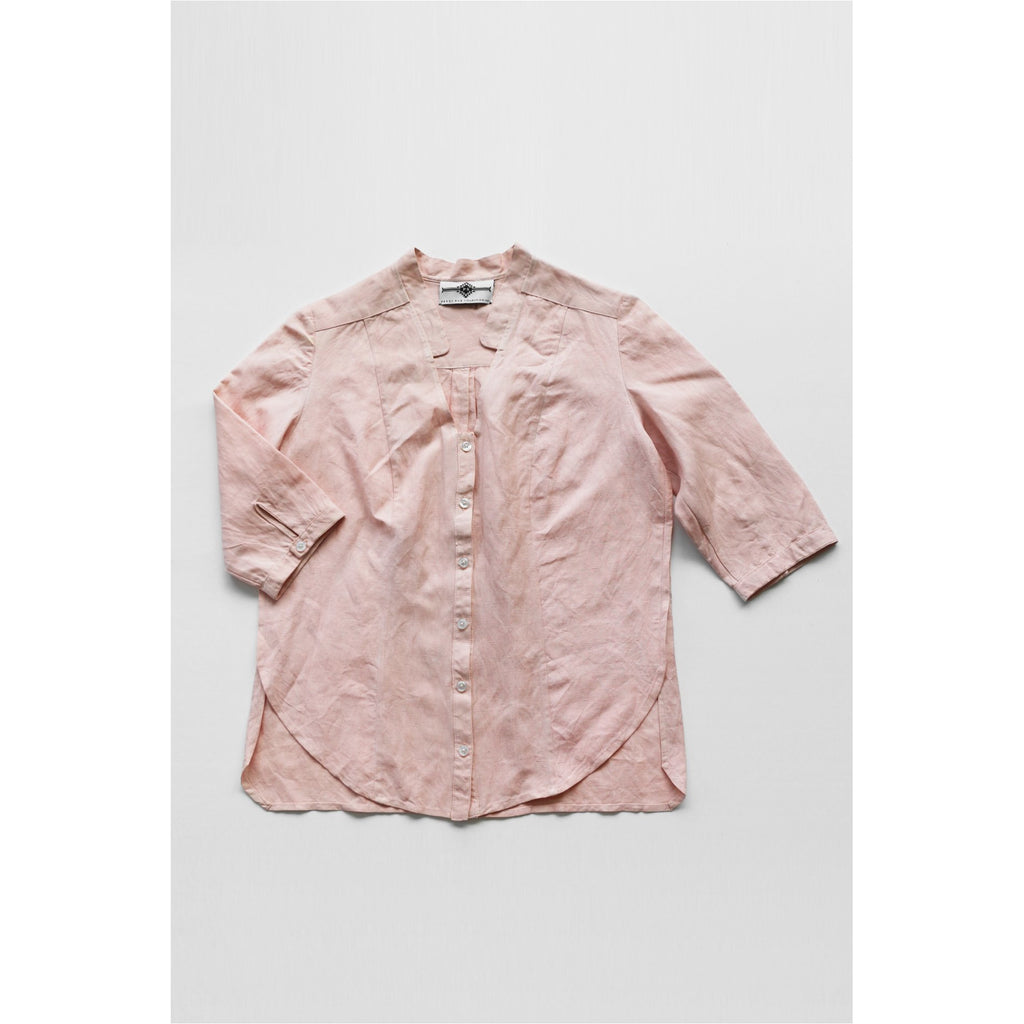 PEGGY SUE COLLECTION |  Light Pink Button Front Shirt