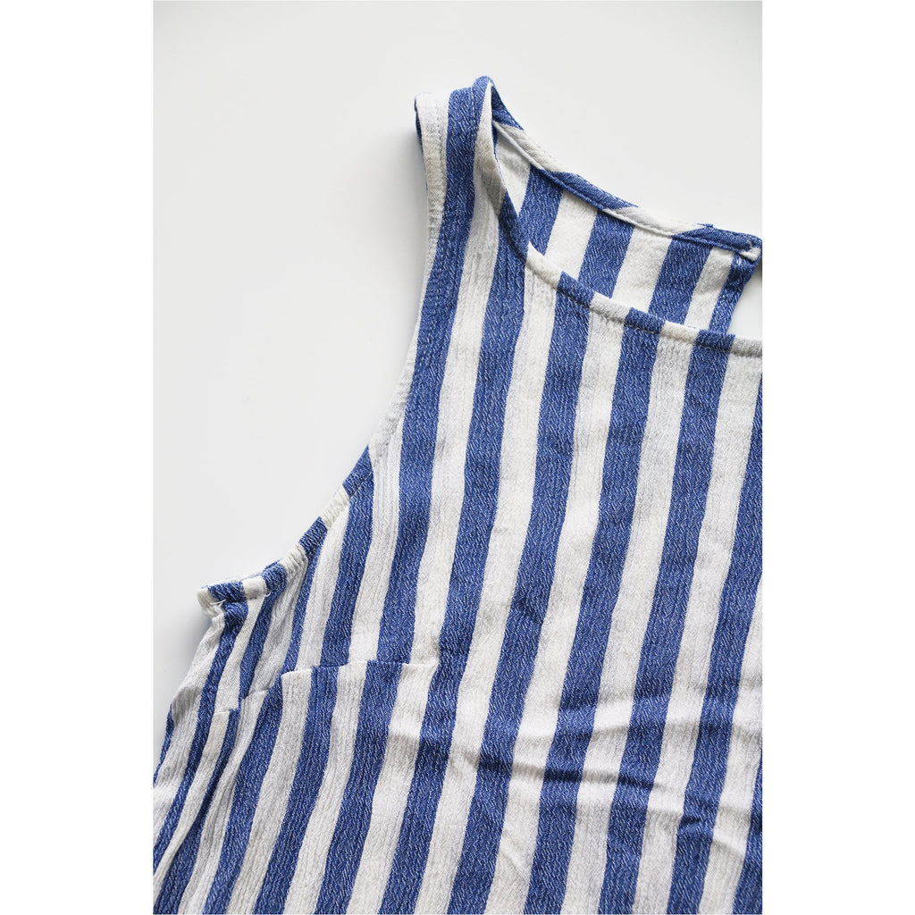 H&M | Blue and White Stripes Tank Top