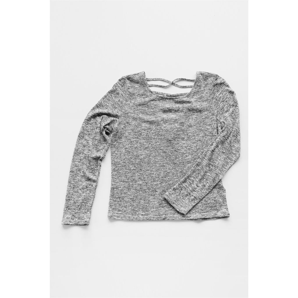 H&M | Heather Grey Long Sleeve Top