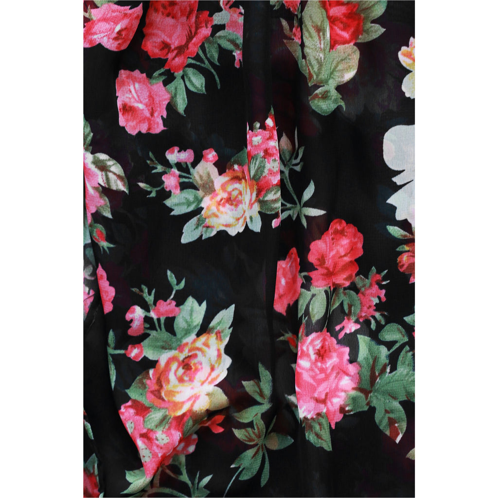 UK2LA | Floral Jumpsuit Dress - Fresh Fashion Library
