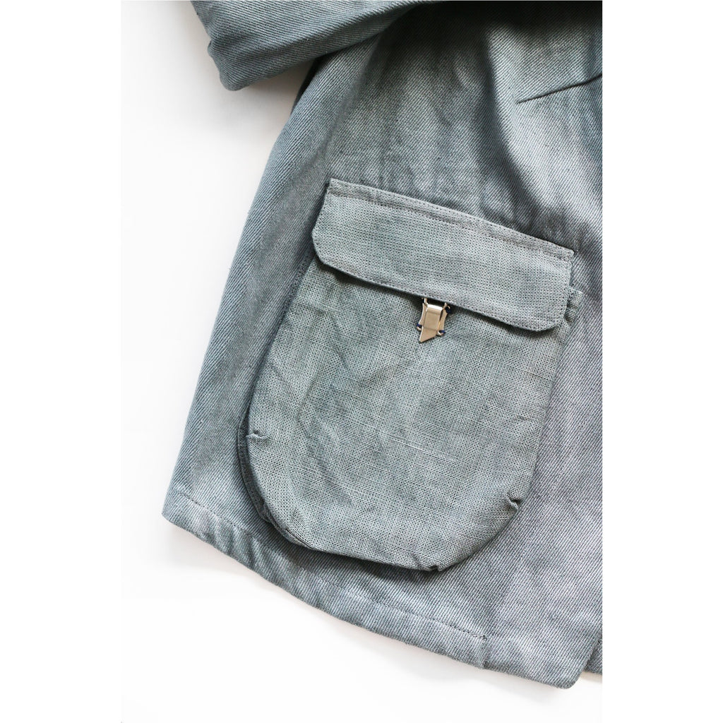 PEGGY SUE COLLECTION |  Blue Twill Utility Jacket