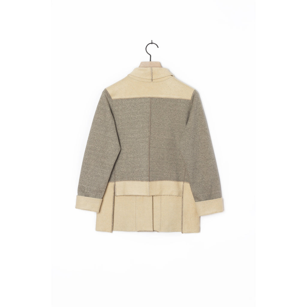 PEGGY SUE COLLECTION |  Grey French Terry Cardigan