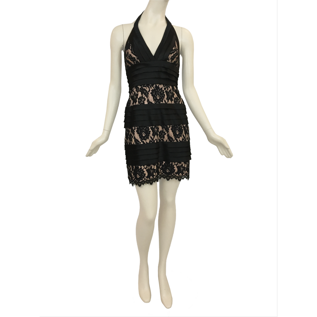 BCBG | halter dress - Fresh Fashion Library