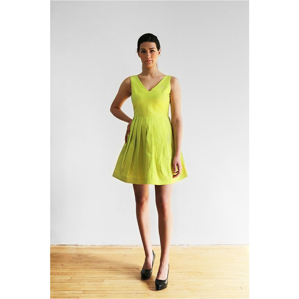 Halston Heritage | V-neck Dress - Fresh Fashion Library