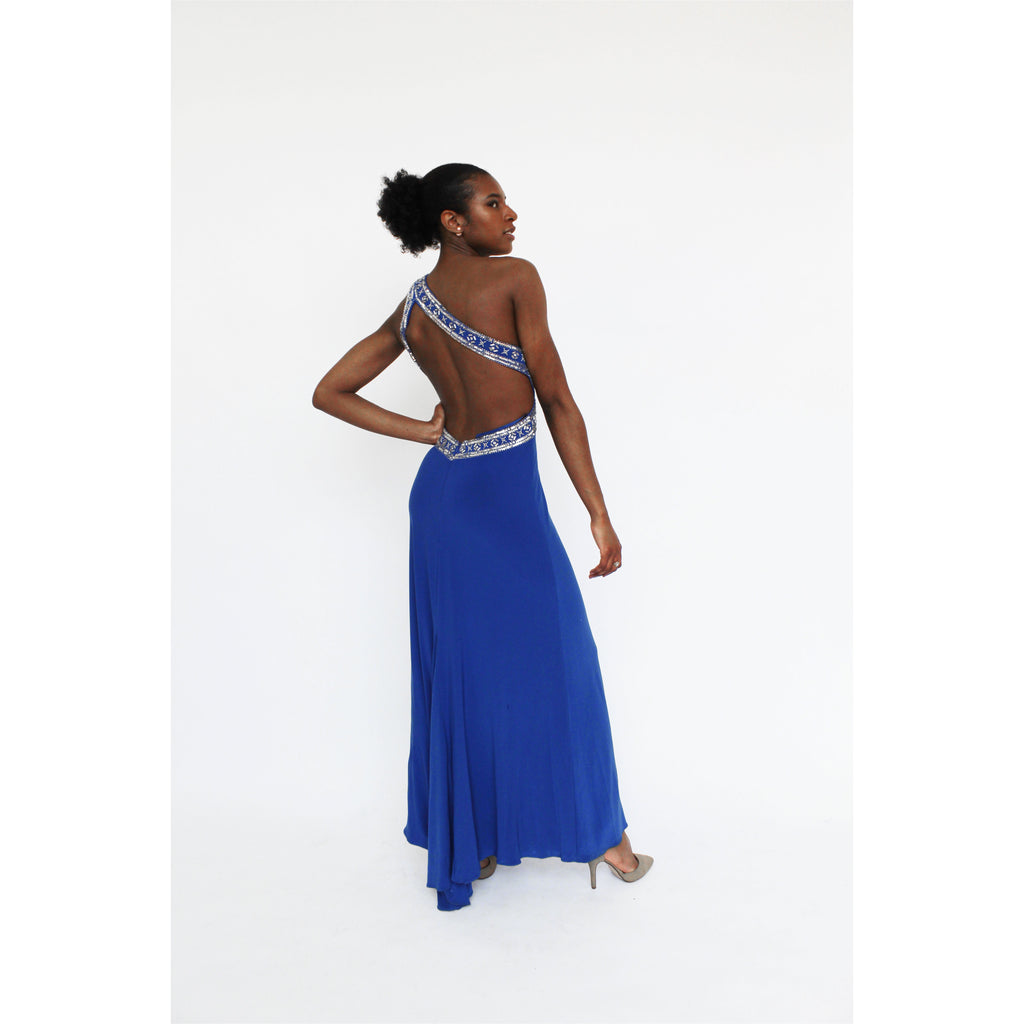 Laura | One Shoulder Gown - Fresh Fashion Library