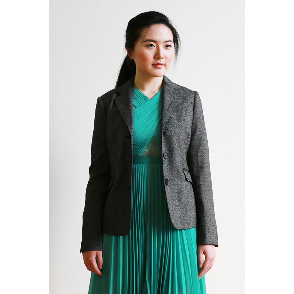 Jacob | Charcoal Blazer - Fresh Fashion Library