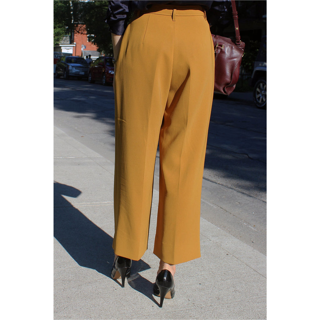 BABATON |  Ochre Tailored Trousers