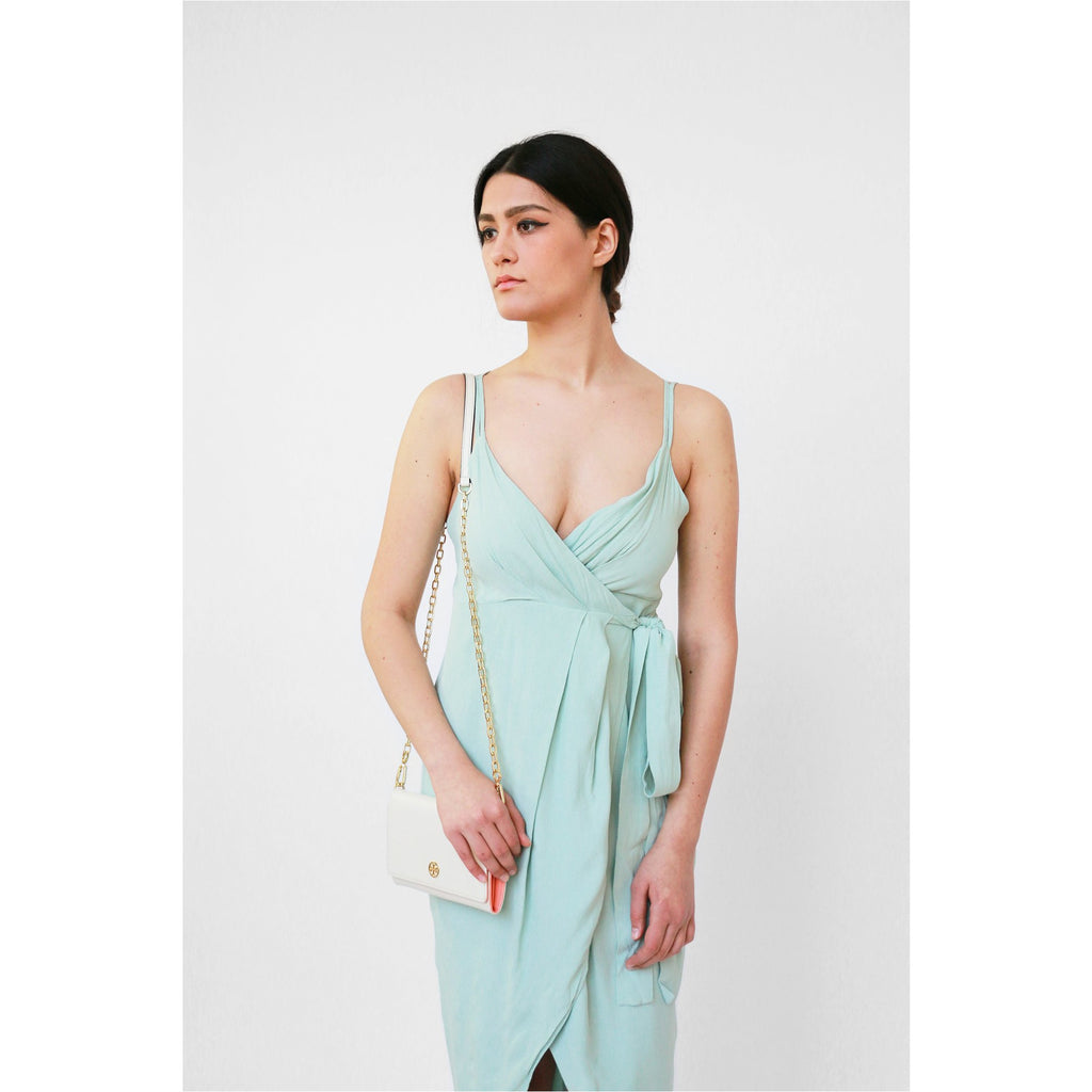 PREM | Moments Wrap Dress - Mint