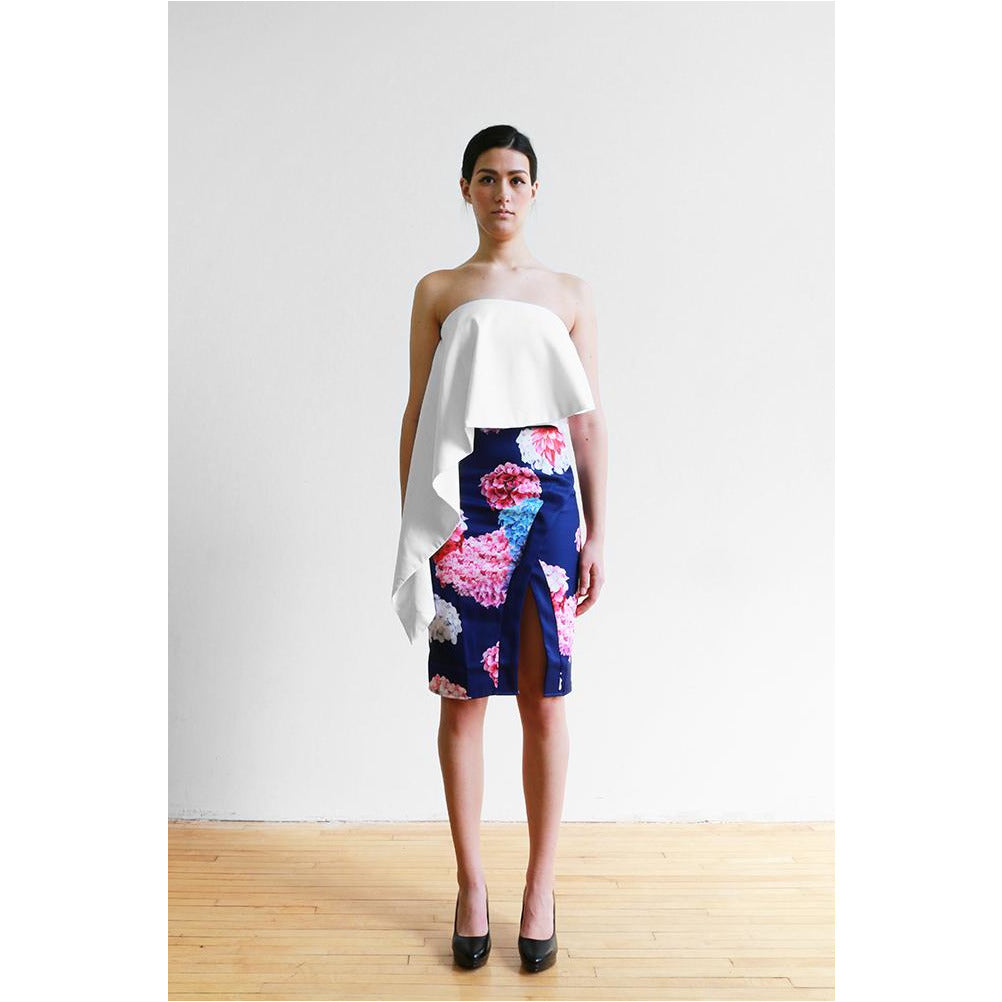 Striking | Floral Skirt - Fresh Fashion Library