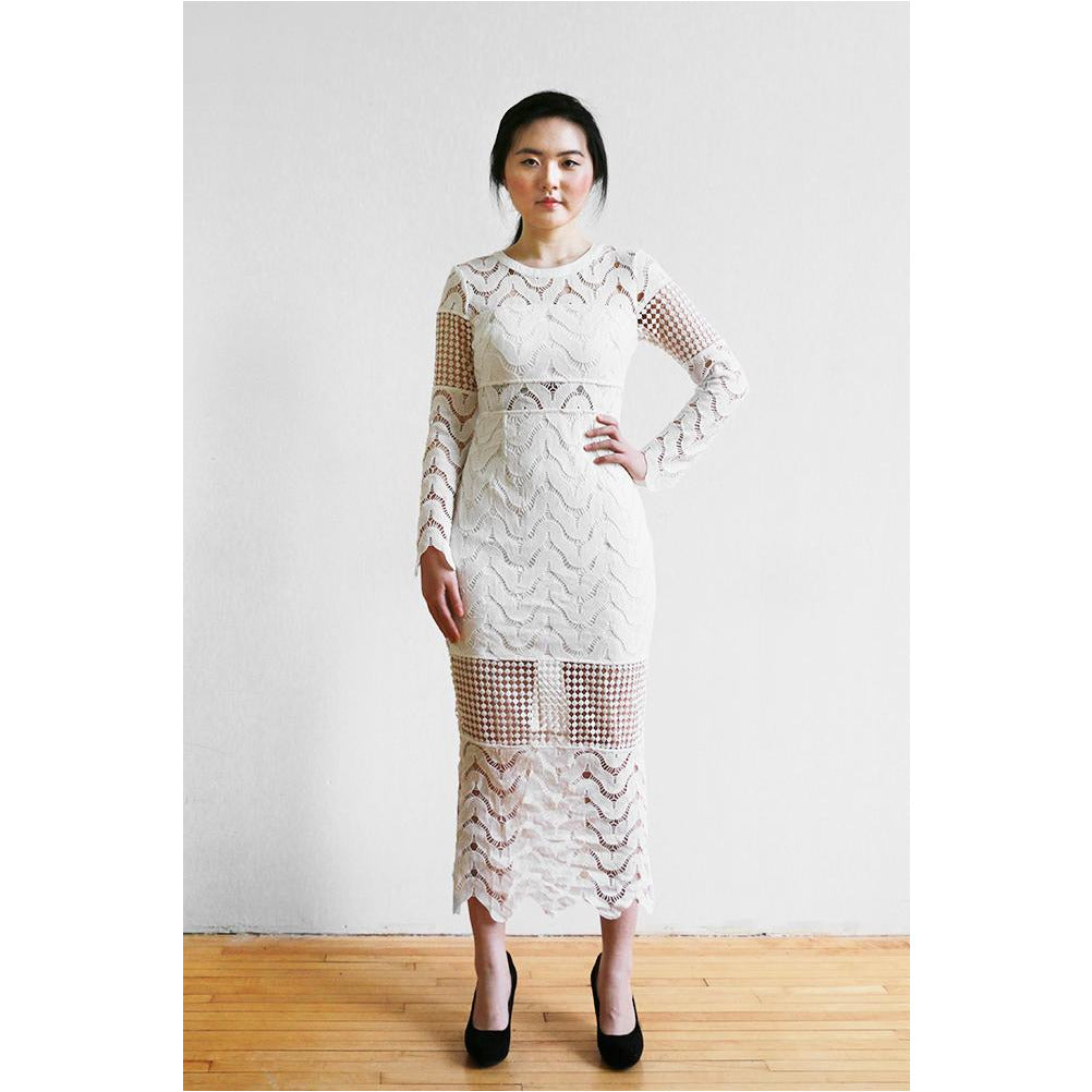 PREM | State of Grace Dress - White
