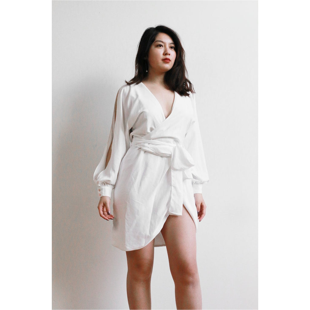 PREM | Athena Mini Dress - White