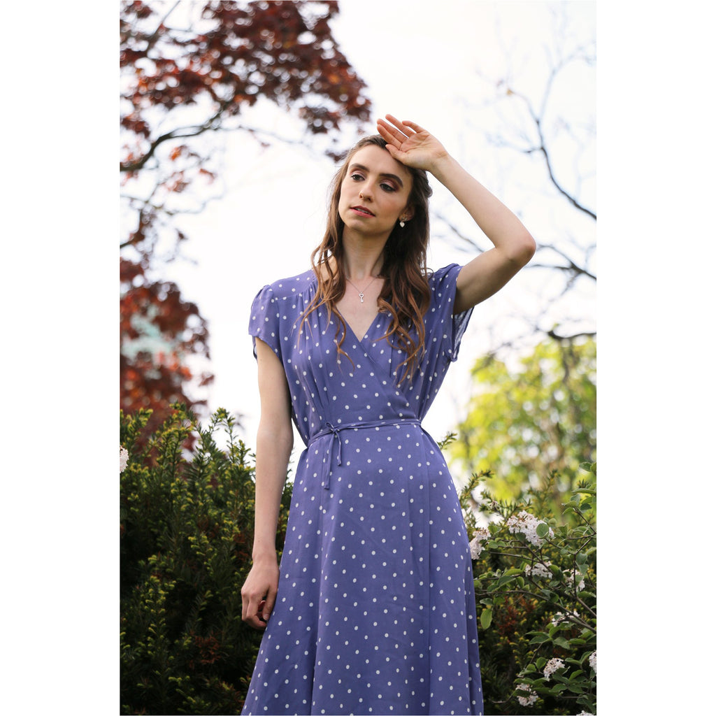Reformation | Carina Dress - Viola - Fresh Fashion Library