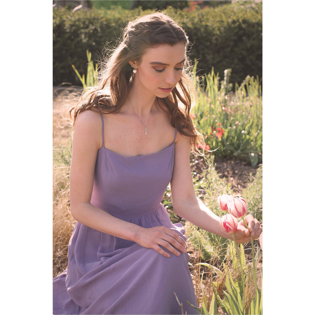 Reformation | Rosehip Dress - Orchid - Fresh Fashion Library