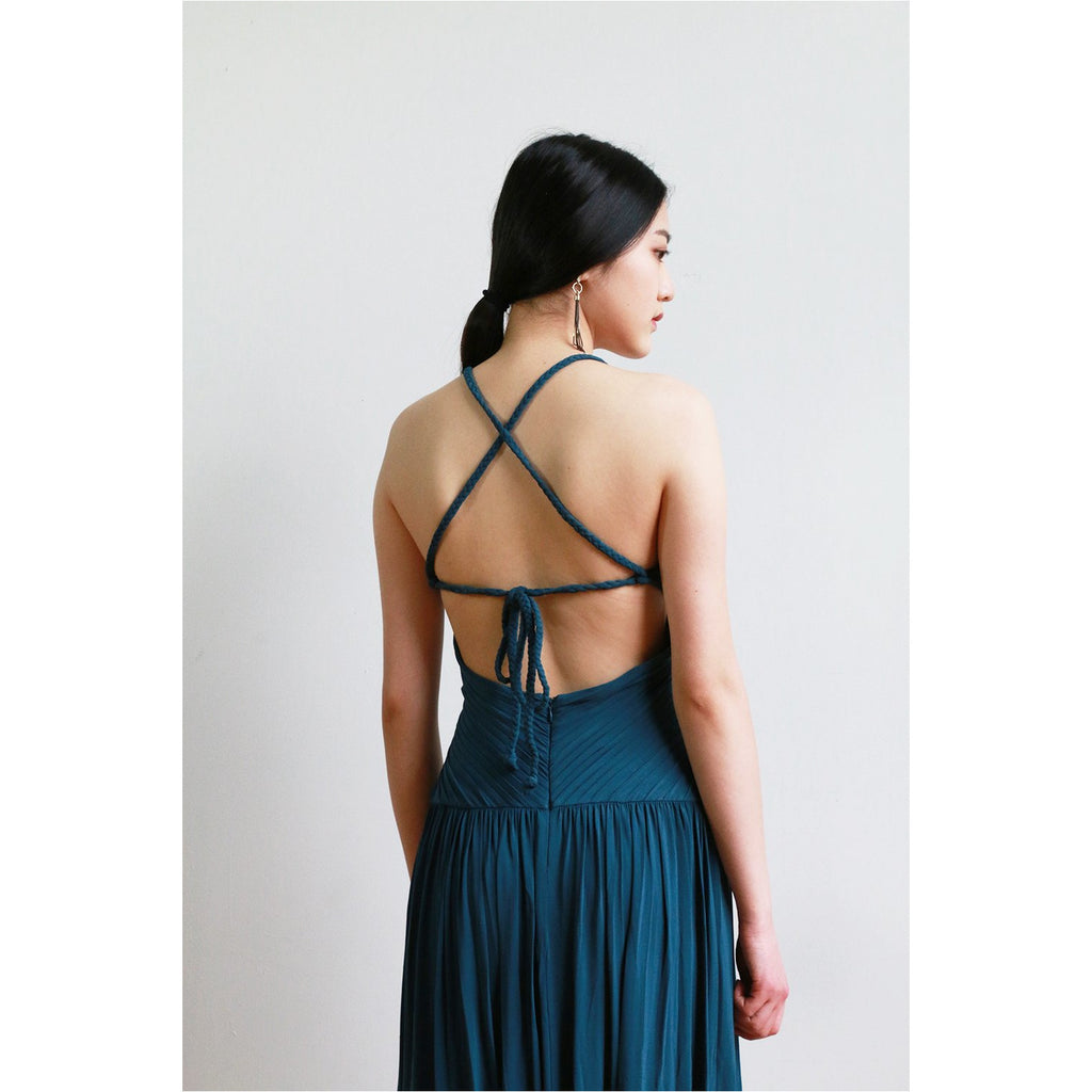 BCBG | Cross Back Gown