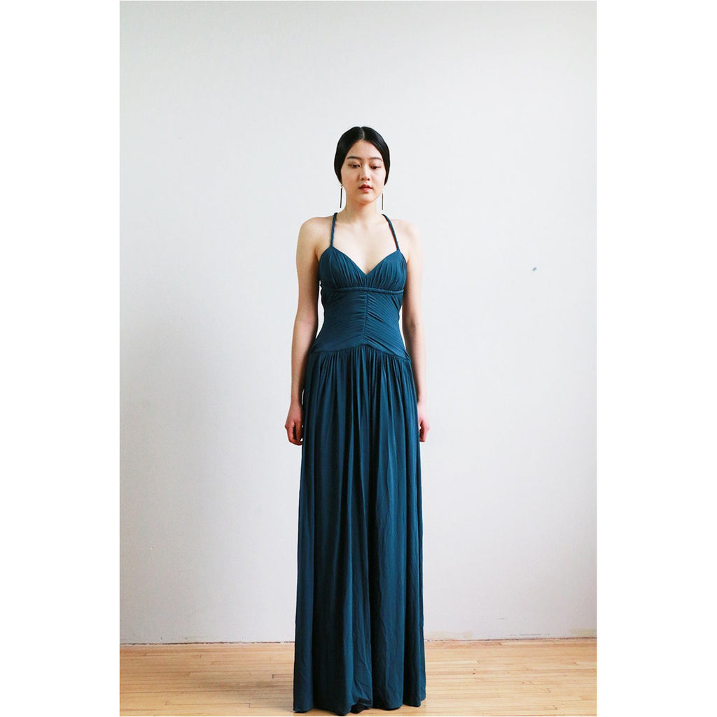 BCBG | Cross Back Gown - Fresh Fashion Library