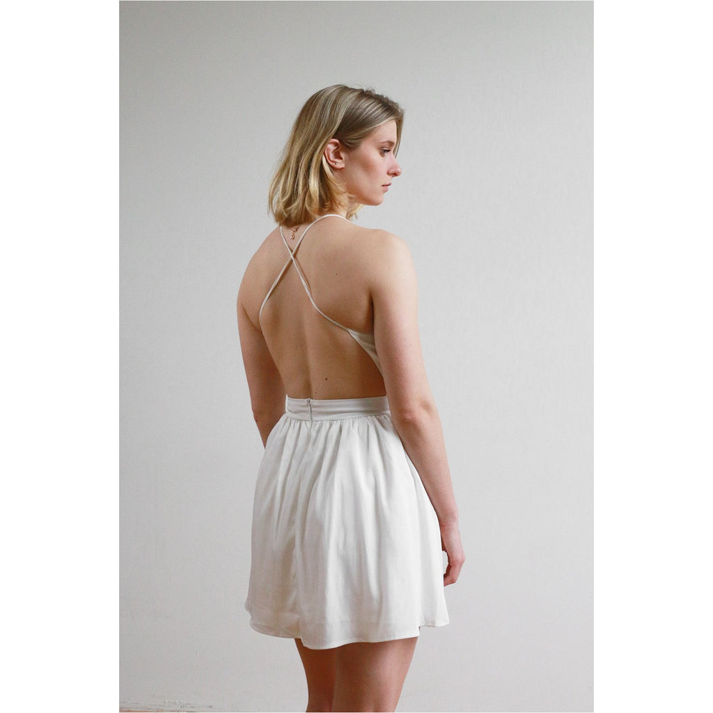 Tobi | Cross Back Dress - Fresh Fashion Library