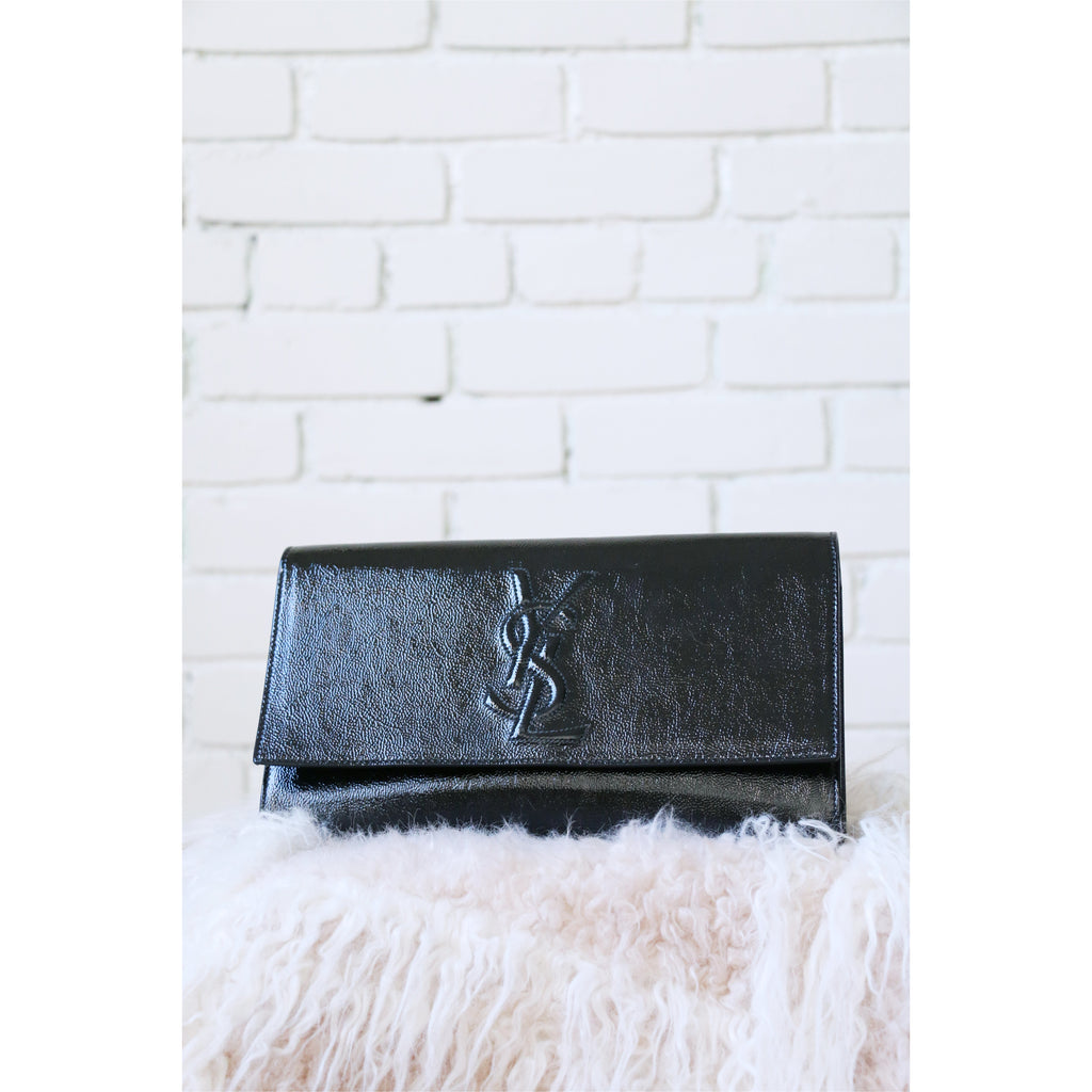 Yves Saint Laurent | Belle Du Jour Clutch - Fresh Fashion Library