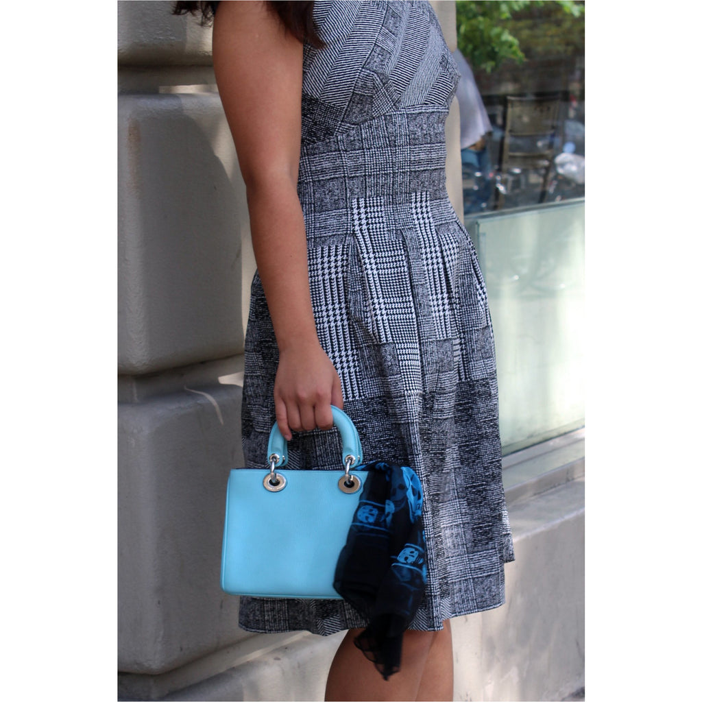 DIOR | Light Blue Diorissimo Small Bag - Fresh Fashion Library