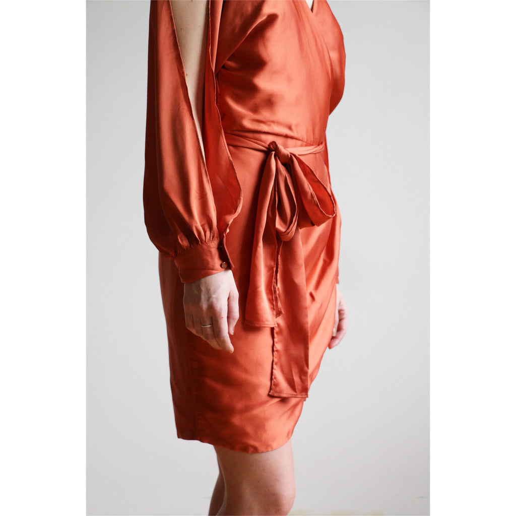 PREM | Athena Mini Dress - Rust