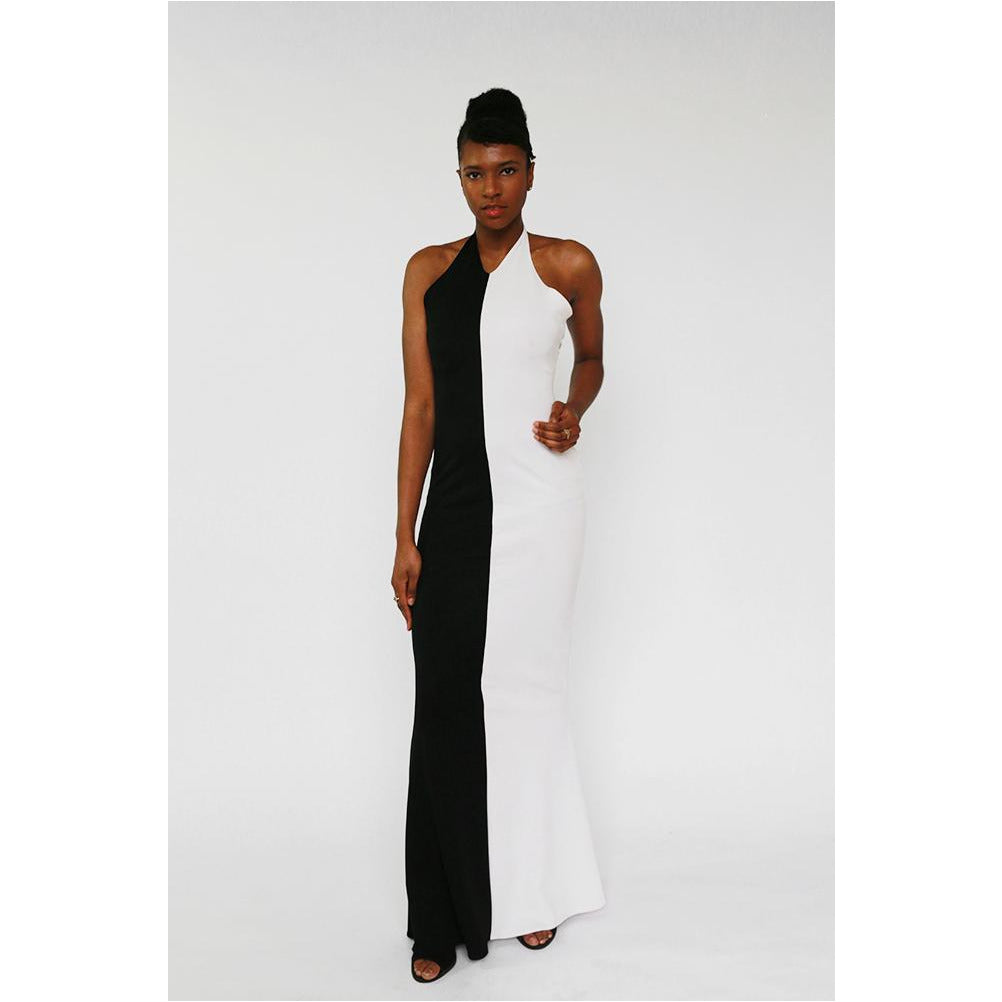 Luxe Collection | Halter Neck Fitted Gown